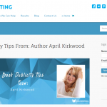 April K Shares Several Book Publicity Tips On DigiWriting.com