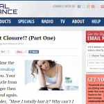 Feature Article on DigitalRomanceInc.com : So You Want Closure!? (Part One)