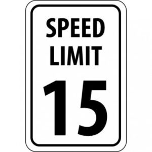 NMCTM19G_-00_White-Black_Front_Speed-Limit-15-18x12--040-Aluminum-Sign