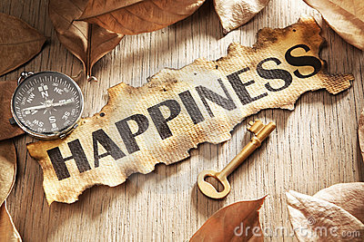 guidance-key-to-happiness-concept-10955391